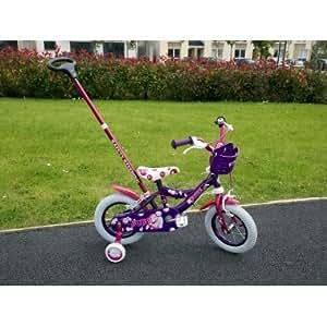 Children Bicycle Bike With Parent Handle 12 Quot Inch Amazon