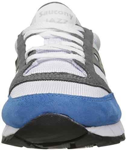 Saucony - Jazz 91, Scarpe da ginnastica Unisex – Adulto Vari colori (bianco/rosso/blu)