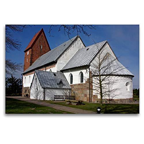 CALVENDO Premium Textil-Leinwand 120 cm x 80 cm Transversal, Sankt Severin, Keitum,...