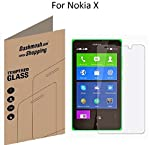 Introducing Dashmesh Shopping Tempered GLASS Screen Protectors for your Smart Device. Highly durable and scratch resistant/chip resistant, this strong 9H (hardness level) protector will guarantee your cell phone the best protection against drops, bum...