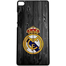 Carcasas para moviles Funda para movil de tpu compatible con huawei p8 lite 2016 real madrid