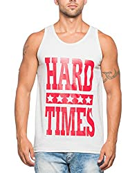 Alan Jones Printed Mens Cotton Vest