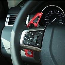 Pezzi di spostamento del cambio dell'attrezzo dell'automobile Trim Accessori della lega di alluminio 2pcs