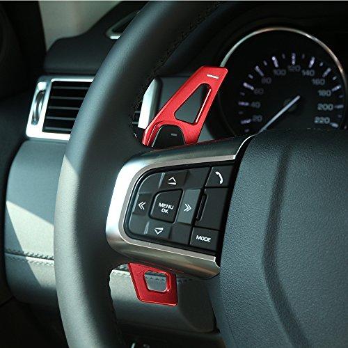 Preisvergleich Produktbild Car Steering Wheel Gear Shift Paddles Trim Aluminum Alloy Accessories 2pcs