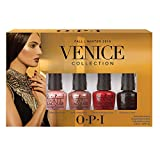 OPI Smalto per Unghie Mini Kit, Venice Mini Kit, 4 x 3.75 ml