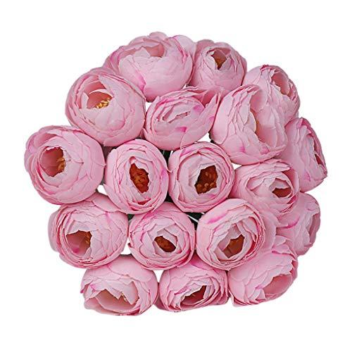 Quallen Licht Kostüm Mit - Lazzboy Hochzeitsstrauß Blumenstrauß Crystal Rose Pearl Brautjungfer Braut Kunstseidenblume Kunstblumenstrauß, Pfingstrosen, Künstlich, Seide, Für Hochzeit/Dekoration(Rose)
