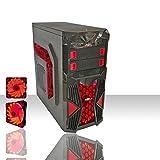 PC DESKTOP GAMING AMD QUAD CORE WIFI/HD 1TB SATA III/RAM 8GB 1600MHZ/HDMI-DVI-VGA/USB 2.0 3.0/PC FISSO COMPLETO ASSEMBLATO PRONTO...