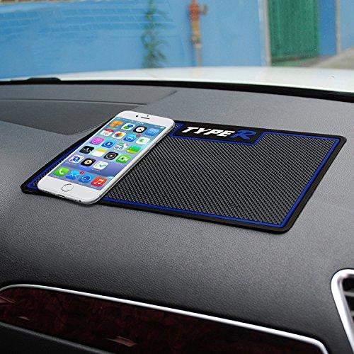 HiKeep Auto Anti-Rutsch-Matte klebrig Pad abwaschbar Armaturenbrett Antirutschmatte für Sonstiges Ausrüstung, wie Brille, Handys, Schlüssel