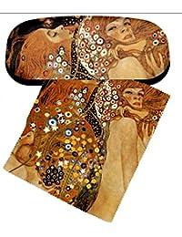 Set Gafas funda y paño para limpieza Klimt–Wasserschlangen de Artis Vivendi