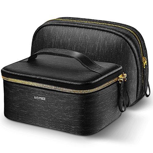 HOMIEE Portable Travel Kosmetiktasche Waschbeutel, tragbare Reise Make up Taschen-Bürsten-Beutel Kulturwaschbeuteln Spielraum Speicher Beutel bilden Fälle Beutel für Frauen