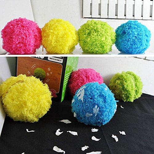 prevently nueva llegada Creative color brillante limpiador automático Rolling Ball eléctrico Mocoro Mini Robot de barrido