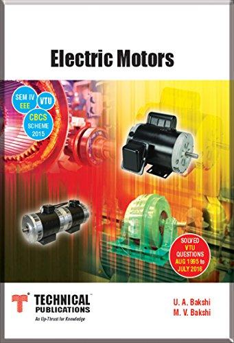 Electric Motors for VTU (SEM- IV EEE Course-2015)