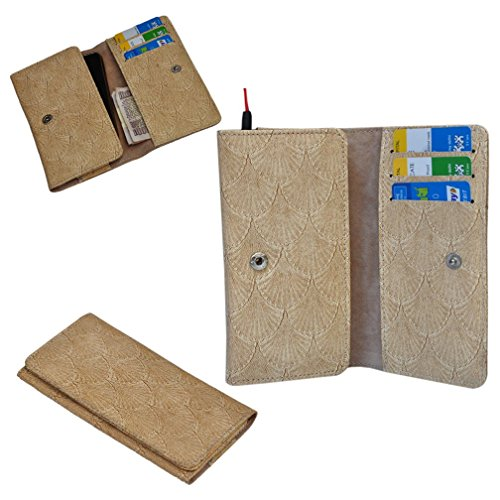 Ding Dong PU Leather Mobile Wallet Flip Pouch Case Cover For Lenovo P770  available at amazon for Rs.289
