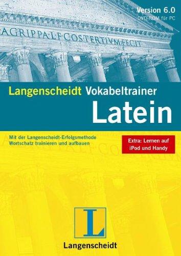 Langenscheidt Vokabeltrainer 6.0 Latein