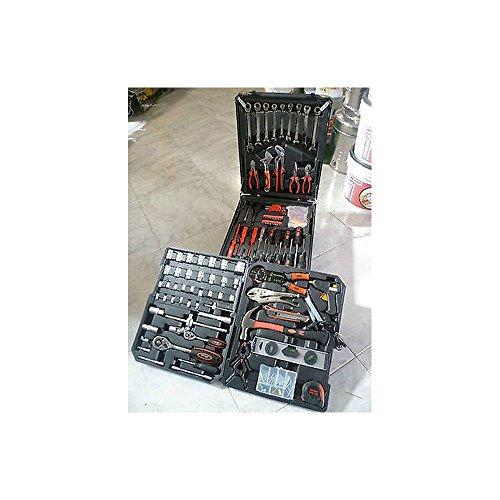 Koffer Trolley 220Stück Werkzeug-Arbeit Set Werkzeug + 9Schlüssel Ratsche