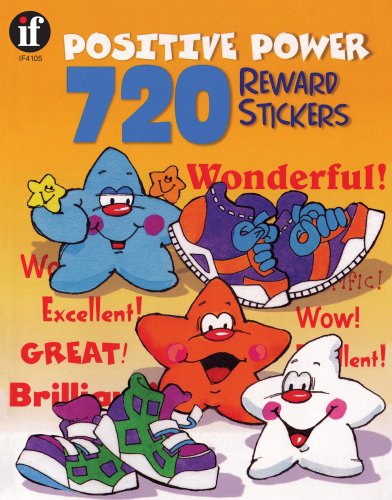 720 Positive Power Reward Stickers, Grades Pk - 6