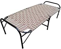 Sharma Steel Industries has a various types of folding beds. They used high quality of material. Niwar folding bed is one of these beds. Material used - main frame - heavy iron pipe. frame painted with asian paint for smooth finish and to avoid corro...