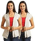 Skidlers Women's Shrug (Pack of 2) (DESI...