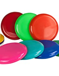 Frisbees o discos voladores - De diferentes colores - 10 unidades - SchwabMarken