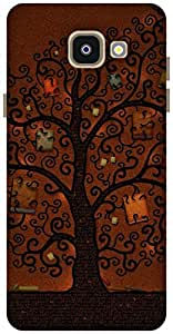 The Racoon Grip The book tree hard plastic printed back case / cover for Samsung Galaxy A5(2016)