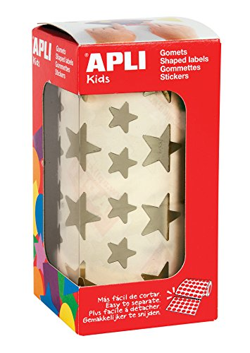 APLI Kids - Rollo de gomets estrella