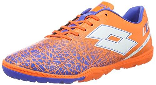 Lotto Sport Herren Lzg VIII 700 TF Fußballschuhe, Orange (Fant FL/WHT), 45.5 EU