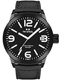 TW Steel Marc Coblen Edition mit Lederband 45 MM Black/Black TWMC30