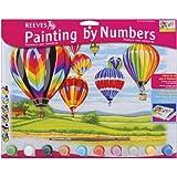 Reeves - Pintar por Números - Set de pintura grande, diseño de globos aerostáticos