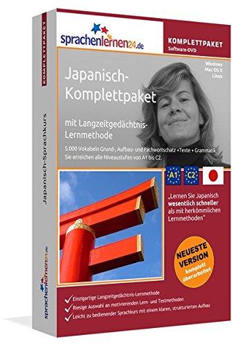 Sprachenlernen24.de Japanisch-Komplettpaket (Sprachkurs): DVD-ROM für Windows/Linux/Mac OS X inkl....