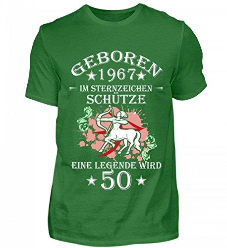 Schütze Sternzeichen Green Herren Kelly 50 Hochwertiges Organic Shirtee Wird BIq61Pwc