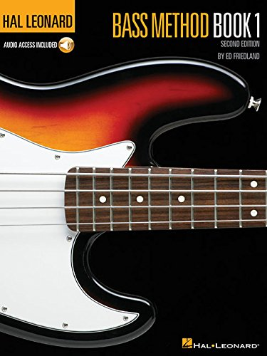 Hal Leonard Bass Method: Book 1 (Second Edition) with CD (Hal Leonard Electric Bass Method)
