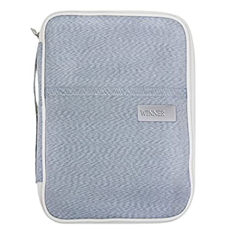 Travel Passport Wallet Document Holder RFID Blocking Purse ID Cards