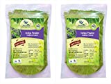 #4: 100% Natural Indigo Leaves (Indigofera Tinctoria) Powder Combo PACK OF 2 (Per Unit 227gm) (Total Weight 454) by Natural Healthlife Care