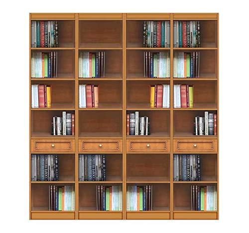 Arteferretto Bücherregal 2 m mit Einlegeböden
