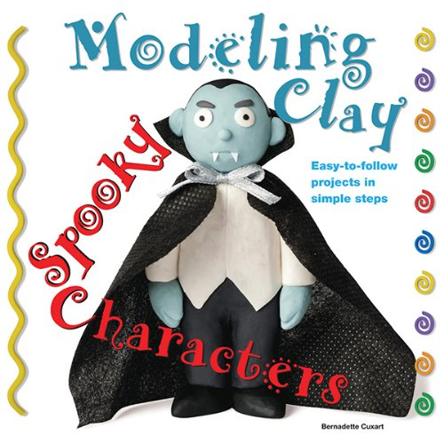 spooky-characters-modeling-clay-books