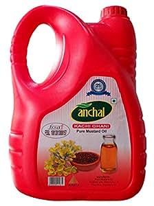Anchal Kachi Ghani Pure Mustard Oil 5 Litre Jar