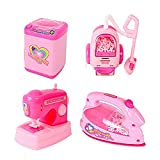 Best Kids Sewing Machines - New Pinch Educational Household set Iron, Washing Machine Review