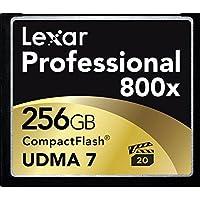 Lexar Professional Carte Mémoire CompactFlash UDMA 7 800x 256Go - LCF256CRBEU800