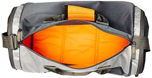 Gear Polyester 38 cms Grey Travel Duffle (DUFCRSTNG0406) Image 4