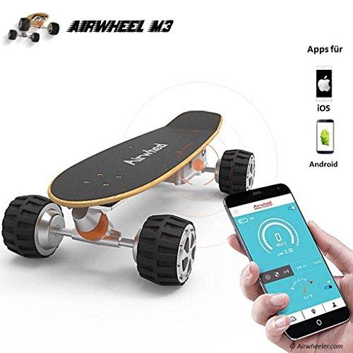 Kategorie <b>Elektro Skateboards </b> - Airwheel M3 Elektro Skateboard mit Motor und 162.8 Wh Akku