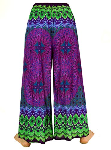 Guru-Shop -  Pantaloni  - Donna Violett