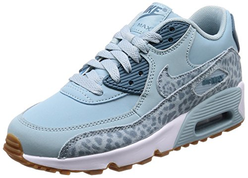 9a95cfb0e82 Nike Women's Air Max 90 LTR SE GG 897987-400 Trainers, Blue (Ocean  Bliss/Noise Aqua-White-Gum Light Brown 400), 5 UK 38 EU - Buy Online in UAE.