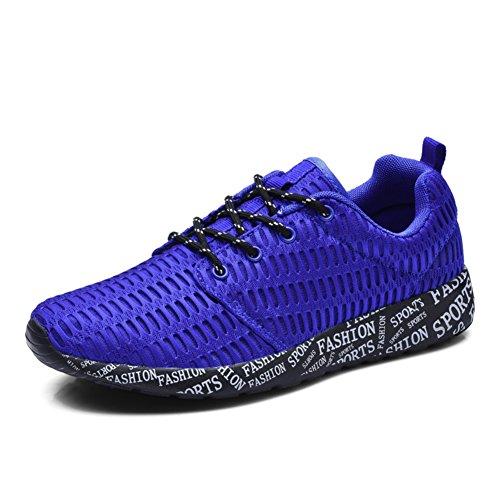 Sport estivi e scarpe tempo libero/scarpe da corsa traspirante/Coppia scarpe Blu