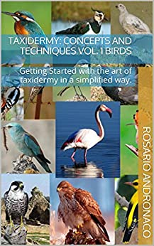 Taxidermy: concepts and techniques vol. 1 BIRDS: Getting Started with the art of taxidermy in a simplified way. by [Andronaco, Rosario]