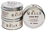 Quick Colourwachs Möbelwachs **ALLE FARBEN** Antikwachs Furniture Wax Möbelpflege Politur (Forest)