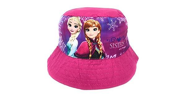 Reine des neiges Bob Fisher Hat Disney Protection UVP 30+ Chapeau Sublimation Frozen