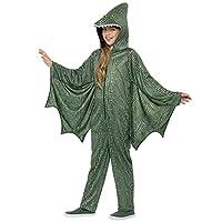 Kids Boys Girls Jurassic Pterodactyl Dinosaur Prehistoric Jumpsuit Fancy Dress Costume