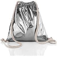 f4d10bc349ee6 Glamexx24 Turnbeutel Rucksack Gymbag Gym Bag Jutebeutel Sportbeutel  beuteltasche in verschiedene Farbe Design