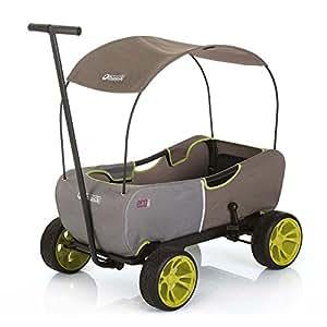 hauck eco mobil bollerwagen handwagen transportwagen f r 2 kinder geeignet mit sonnendach. Black Bedroom Furniture Sets. Home Design Ideas