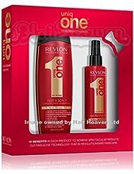 Revlon Uniq 1tout en un Shampooing 300ml et traitement pour cheveux 150ml Coffret cadeau
